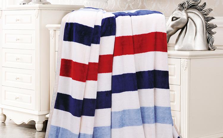 保险促销礼品选什么好?芳恩定制毛毯受欢迎!