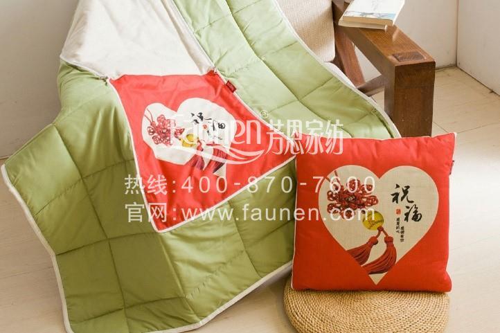 行走的毯子—抱枕被子两用靠垫,快把它抱给你爱的她