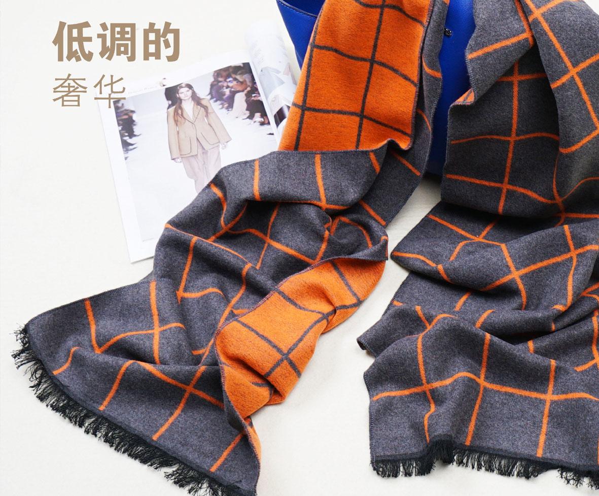 A-D303 格调木代尔围巾
