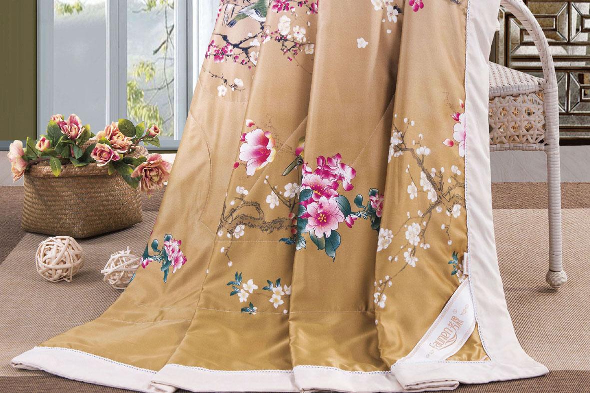 FN-B400 中国风丝绸手绘被