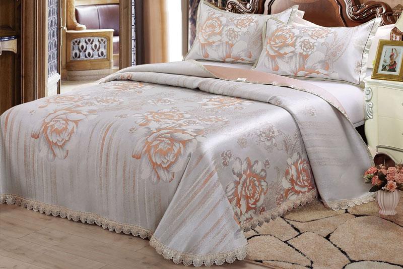 FN-X627 夏韵蕾丝水洗床单三件套