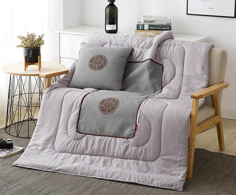FN-R7002 苏绣竹麻抱枕被