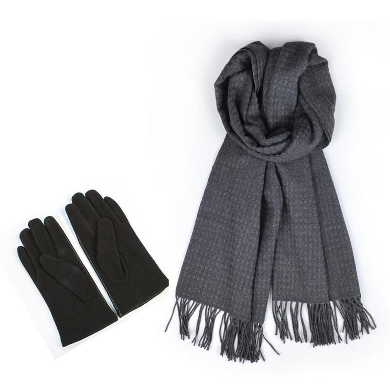 A-ZH2009 珍品围巾手套套装