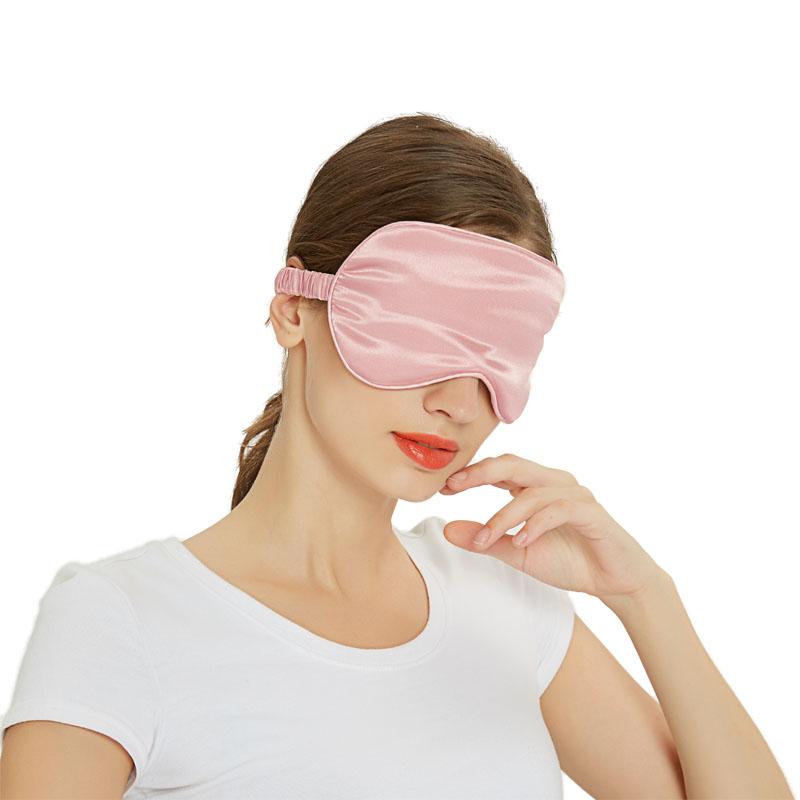A-E351 亲肤丝绸眼罩三件套
