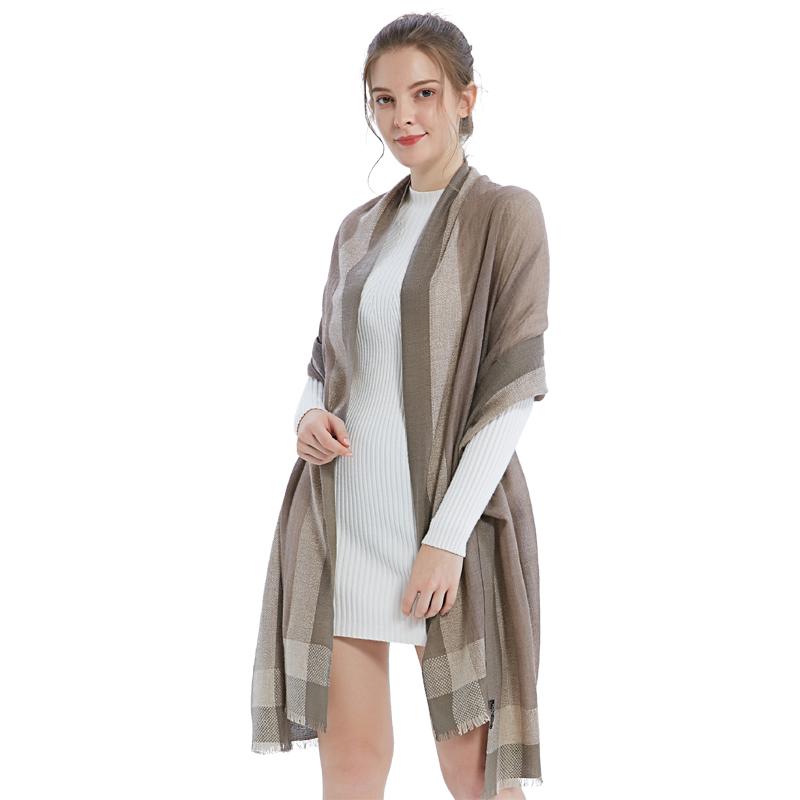 A-D327 演绎经典羊绒围巾