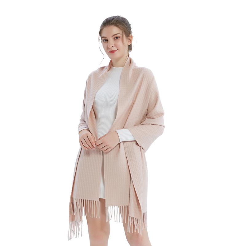 A-D3020 精纺植物羊绒大围巾