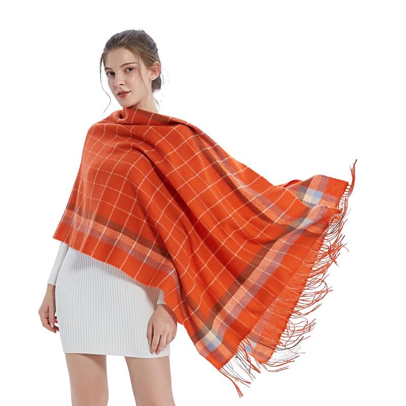 A-D3022 品格羊毛大围巾