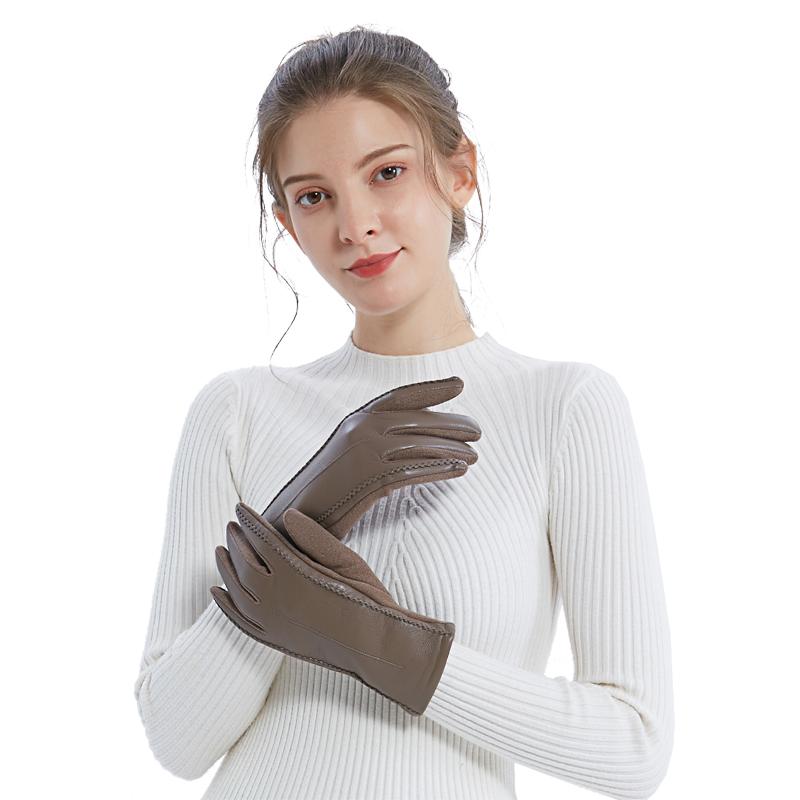 A-F723 奢享触屏软皮手套